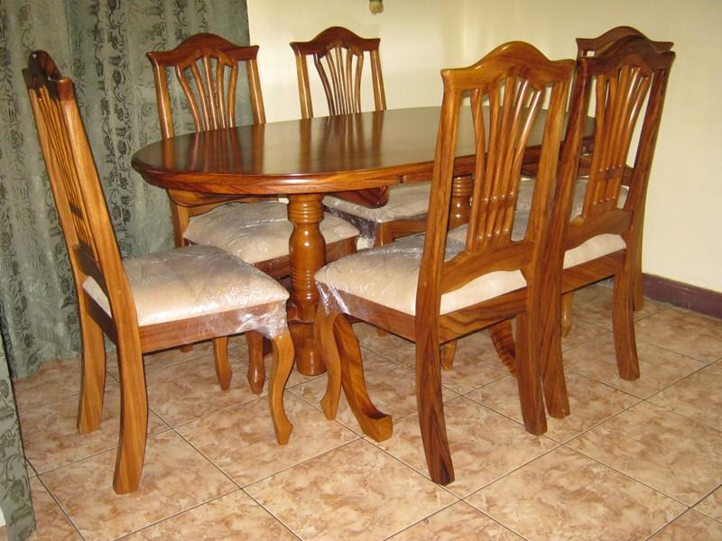 Comedores for Comedores ovalados de madera